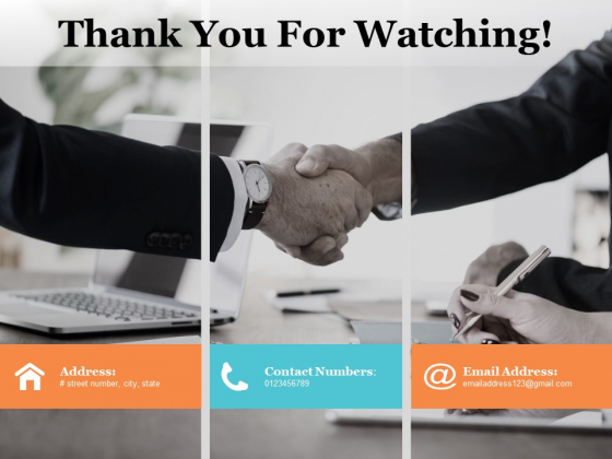 Thank You For Watching Ppt PowerPoint Presentation Slides