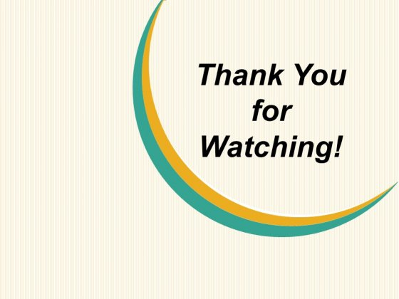 Thank You For Watching Ppt PowerPoint Presentation Visual Aids Deck