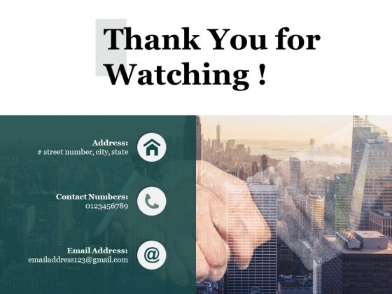 Thank You For Watching Process Analysis Ppt PowerPoint Presentation Professional Picture