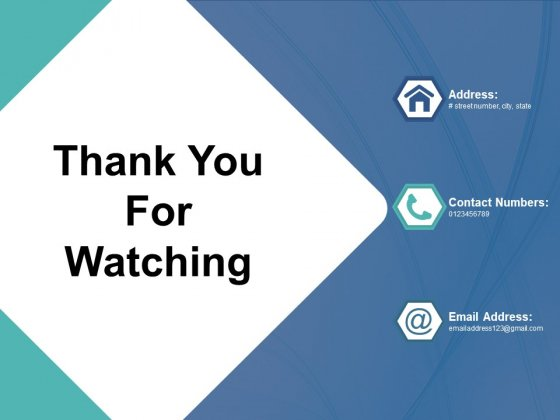 Thank You For Watching Rpa Ppt PowerPoint Presentation