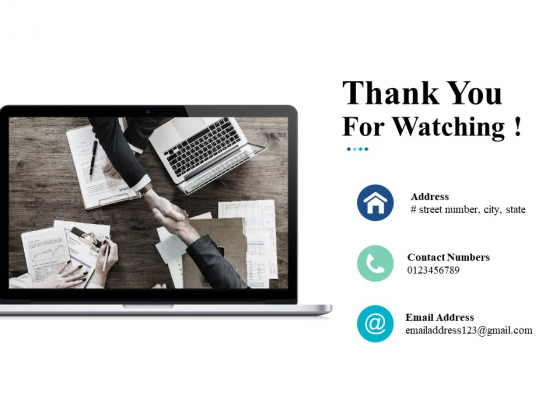 Thank You For Watching Service Quality Ppt Powerpoint Presentation Slides Shapes