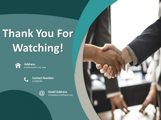 Thank You For Watching Time Optimization Ppt PowerPoint Presentation Outline Gridlines