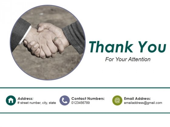 Thank You For Your Attention Ppt PowerPoint Presentation Icon Clipart
