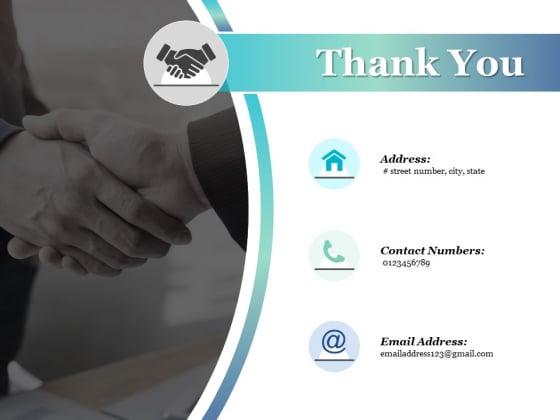 Thank You Four Steps Ppt PowerPoint Presentation Infographics Portfolio