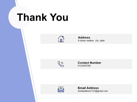 Thank You Job Promotion Pitch Ppt PowerPoint Presentation Professional Background