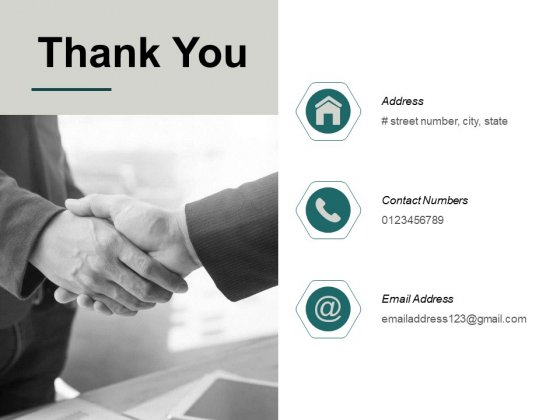 Thank You Market Potential Analysis Ppt PowerPoint Presentation Pictures Grid