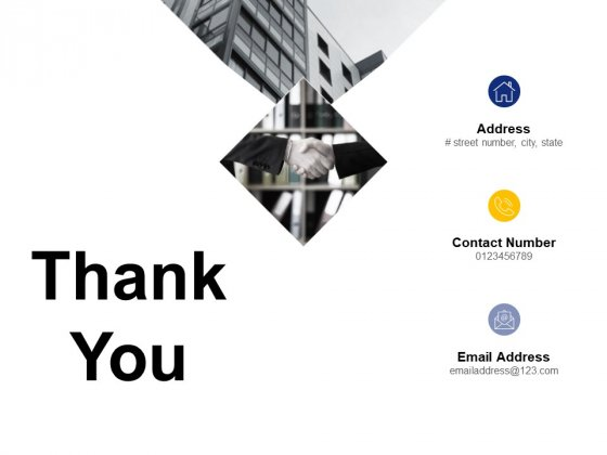 Thank You Operating Expense Ppt PowerPoint Presentation Icon Graphics
