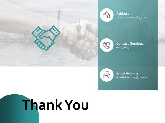 Thank You Organizational Success Ppt PowerPoint Presentation Infographic Template Deck