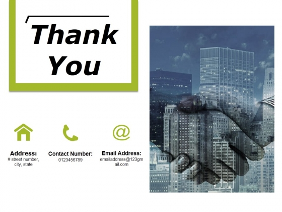 Thank You Ppt PowerPoint Presentation Infographics Topics