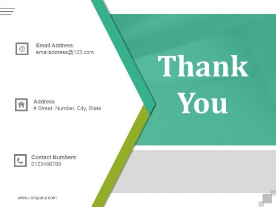 Thank You Ppt PowerPoint Presentation Layout