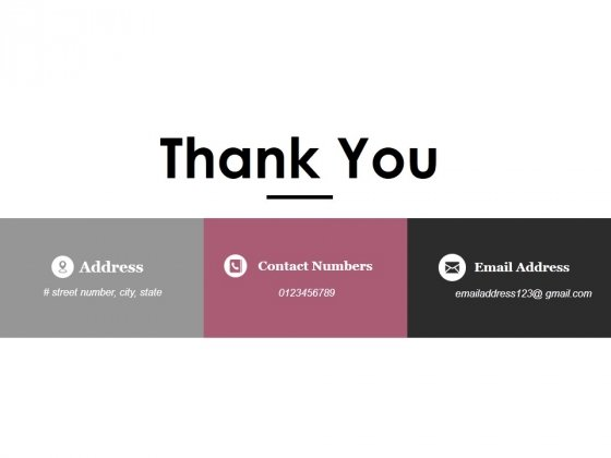 Thank You Ppt PowerPoint Presentation Pictures Vector