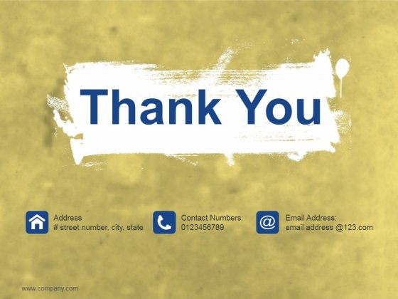 Thank You Ppt PowerPoint Presentation Slides Guide