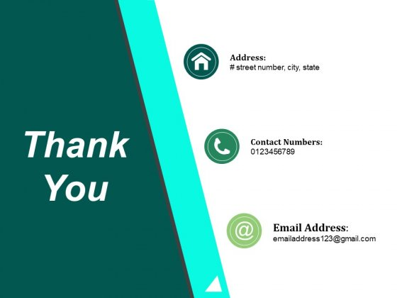Thank You Ppt PowerPoint Presentation Styles Model
