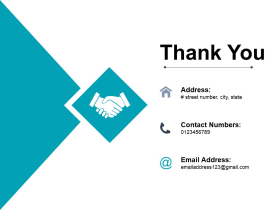 Thank You Project Cost Ppt PowerPoint Presentation Icon Slide Download