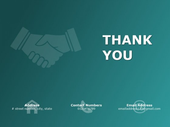 Thank You Service Management Ppt Powerpoint Presentation Icon Ideas