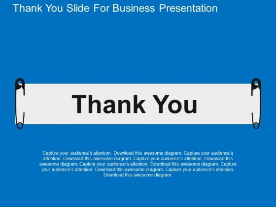 thank you slide for business presentation powerpoint templates, Presentation templates