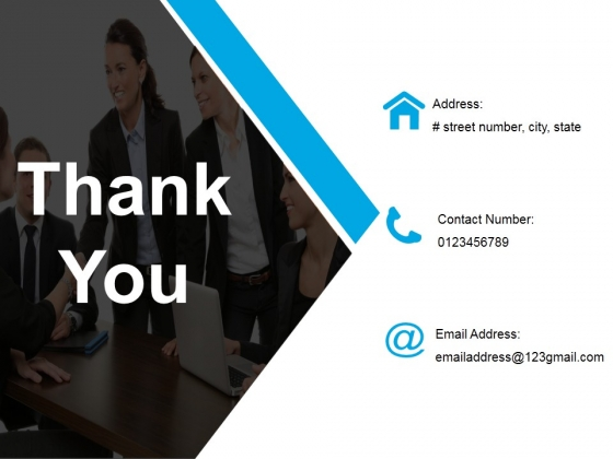 Thank You Template 1 Ppt PowerPoint Presentation Infographic Template Example