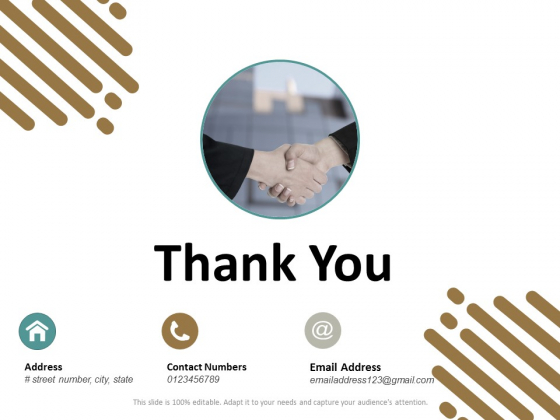 Thank You Trade Branding Ppt Powerpoint Presentation Icon Example File