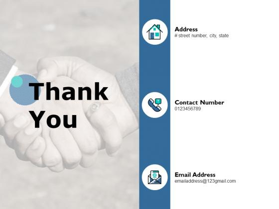 Thank You Vendor Audit Ppt PowerPoint Presentation Slides Show