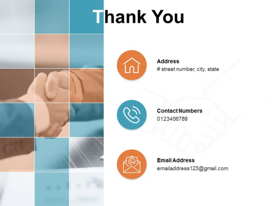 Thank You Working Capital Optimization Ppt PowerPoint Presentation Professional Slides