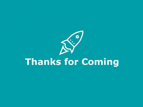 Thanks For Coming Investment Portfolio Management Ppt PowerPoint Presentation Icon Clipart