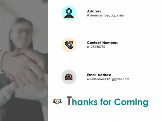Thanks For Coming Working Capital Computation Ppt PowerPoint Presentation Model Graphics Pictures