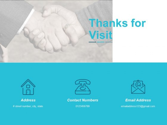 Thanks For Visit Ppt Powerpoint Presentation Inspiration Guidelines