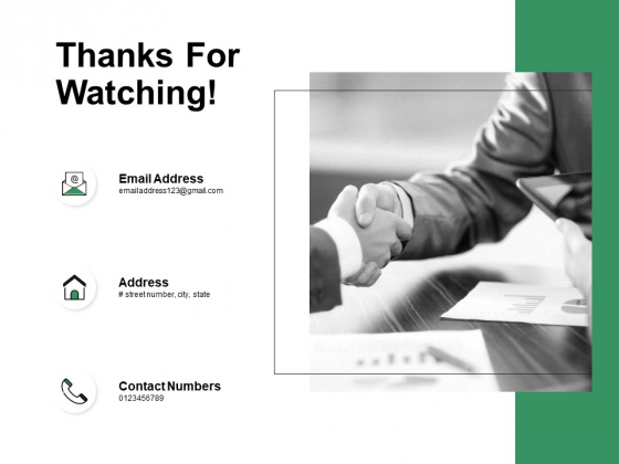 Thanks For Watching Business Intelligence Ppt PowerPoint Presentation Gallery Gridlines