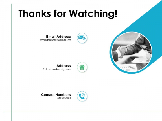 Thanks For Watching Career Planning And Development Ppt PowerPoint Presentation Portfolio Graphic Tips