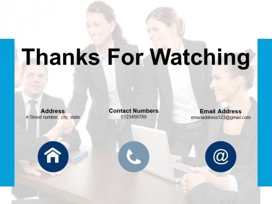 Thanks For Watching Communication Icons Ppt PowerPoint Presentation Infographic Template Designs