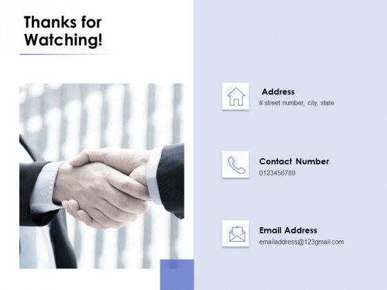 thanks for watching market environment ppt powerpoint presentation professional shapes