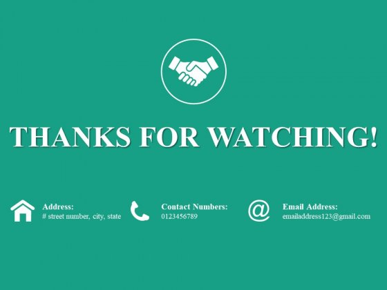 Thanks For Watching Ppt PowerPoint Presentation Ideas Graphic Images
