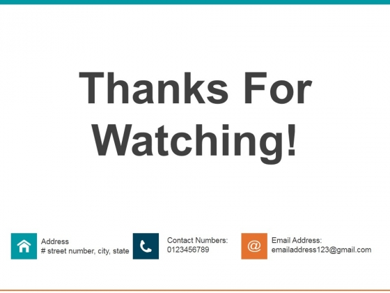 Thanks For Watching Ppt PowerPoint Presentation Infographics Tips