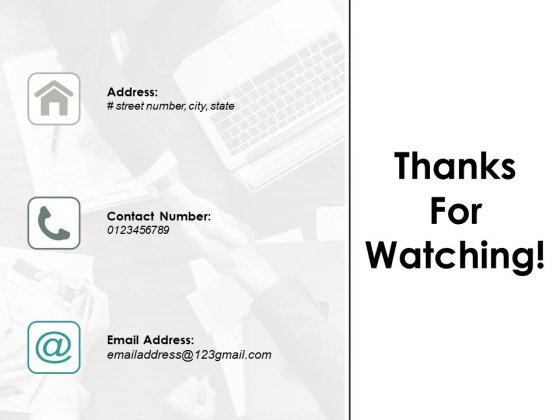 Thanks For Watching Ppt PowerPoint Presentation Styles Show