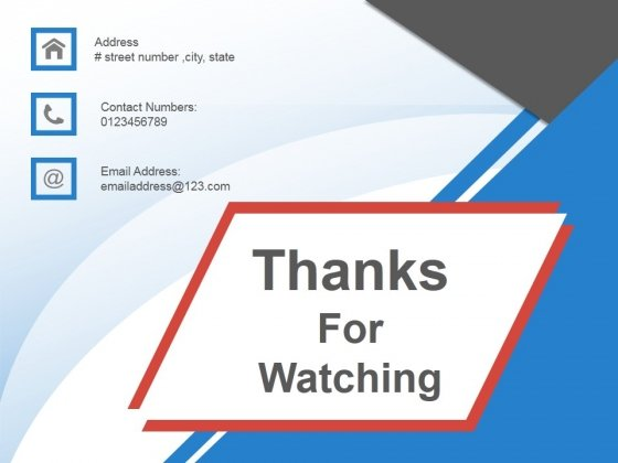 Thanks For Watching Ppt PowerPoint Presentation Templates