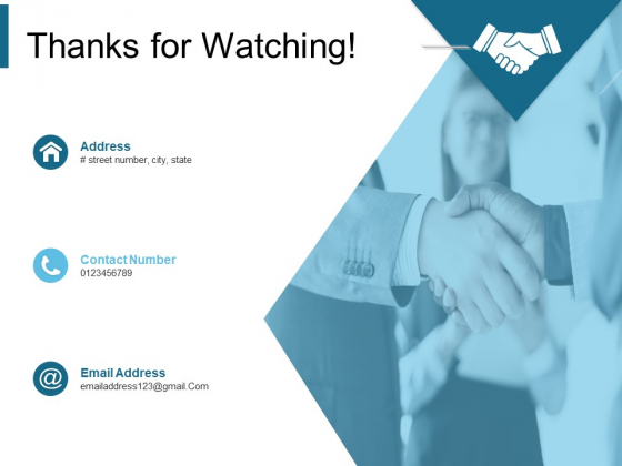 Thanks For Watching Product Positioning Strategies Ppt PowerPoint Presentation File Vector