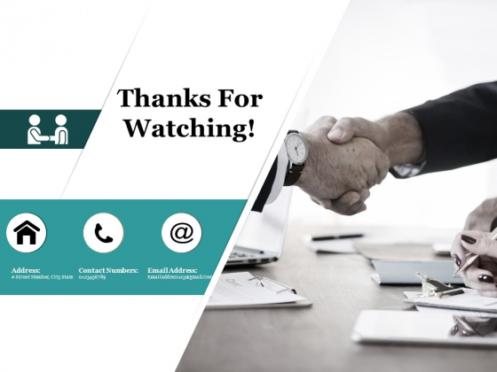 Thanks For Watching Team Competence Ppt PowerPoint Presentation Portfolio Inspiration