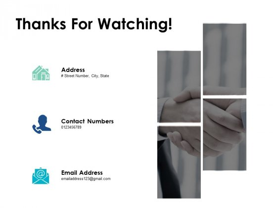 Thanks For Watching Understanding Competitive Landscape Ppt PowerPoint Presentation Layouts Show