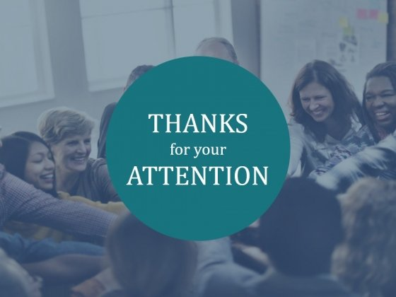 Thanks For Your Attention Ppt PowerPoint Presentation Icon Graphics Design