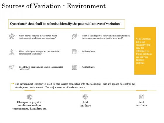 The Fishbone Analysis Tool Sources Of Variation Environment Portrait PDF