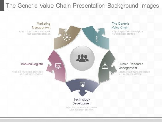 The Generic Value Chain Presentation Background Images