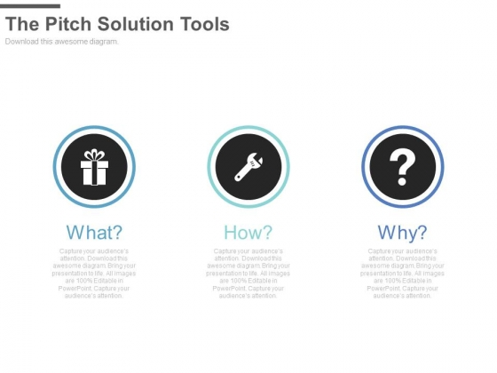 The Pitch Solution Tools Ppt Slides