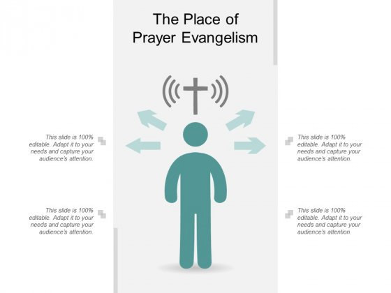 The Place Of Prayer Evangelism Ppt Powerpoint Presentation Styles Graphics