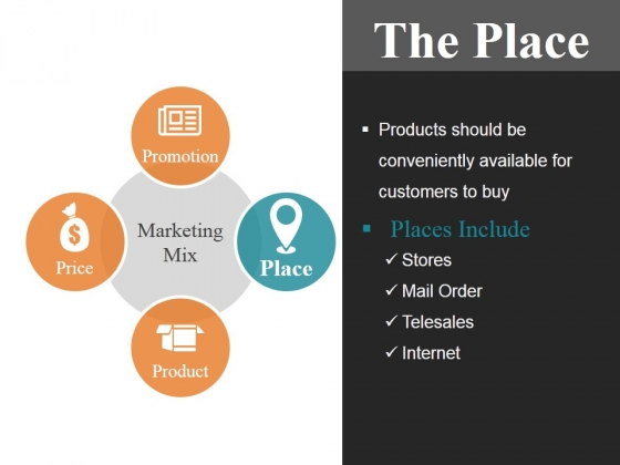 The Place Ppt PowerPoint Presentation Template