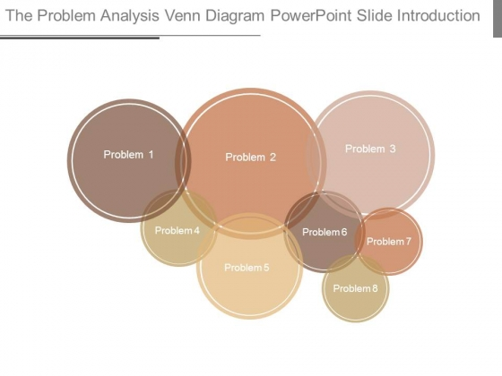 The Problem Analysis Venn Diagram Powerpoint Slide Introduction