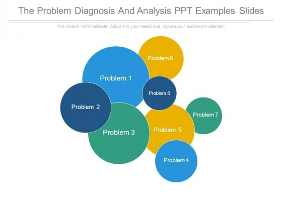 The Problem Diagnosis And Analysis Ppt Examples Slides