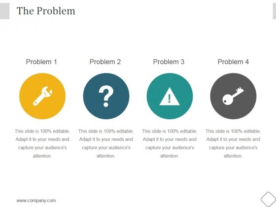 The Problem Ppt PowerPoint Presentation Gallery