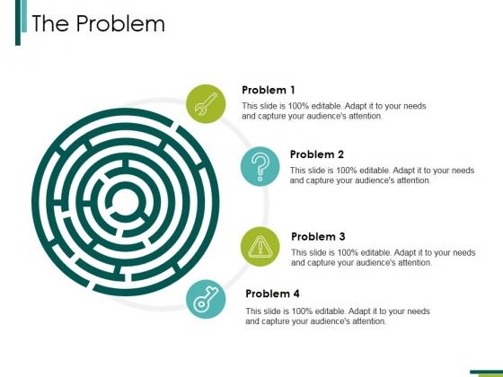 The Problem Ppt PowerPoint Presentation Inspiration Summary