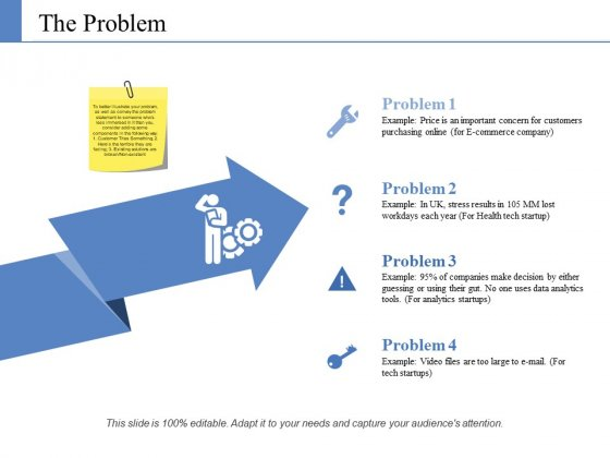 The Problem Ppt PowerPoint Presentation Styles Layouts