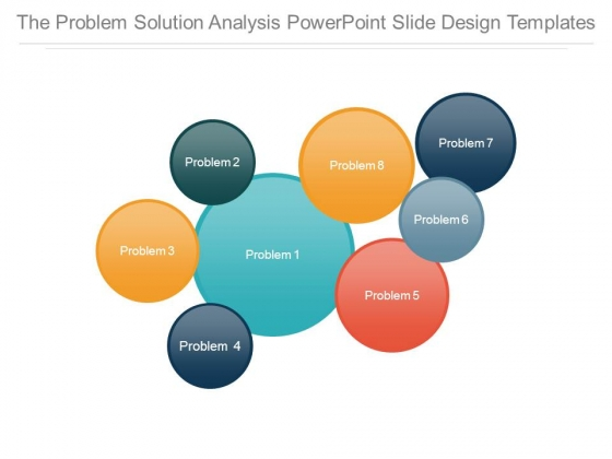 The Problem Solution Analysis Powerpoint Slide Design Templates